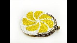 Bead crochet pattern  Beaded coin purse tutorial