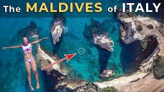 LE MALDIVE ITALIANE  - Alberobello, Bari e Salento - In Puglia gli ultimi bagni dell' Estate 2020
