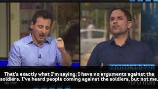 Amit Deri's Debate with Peace Now's, Avi Buskila