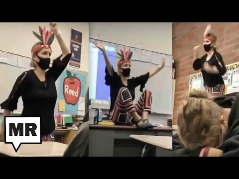 Teacher Mocks Native Americans With Math Lesson Melt Down As Her Students Cringe