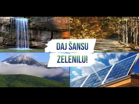 #GiveGreenAChance Announcement - Serbian