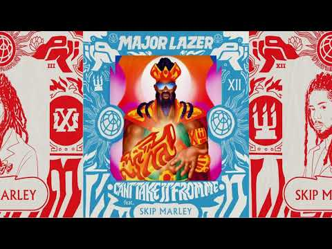 Major Lazer - Can't Take It From Me Feat. Skip Marley [Instrumental][360°][4K] - NikPhil Live Shows