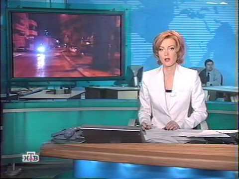 Новости НТВ - отключение ТВС от эфира (2003 год) видео