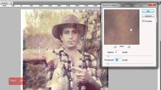 Photoshop Tutorial - How to Repair an Old Photo [In Depth] Intermediate
