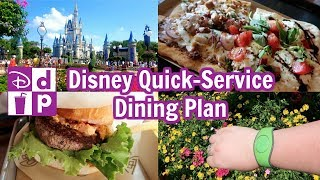 Disney Dining Plan In Detail | Quick Service