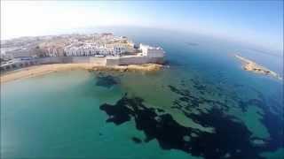 gallipoli by drone spiaggia del salento
