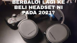 Review Headset Terbaik untuk ps4 - steelseries arctis 3 (malaysia)