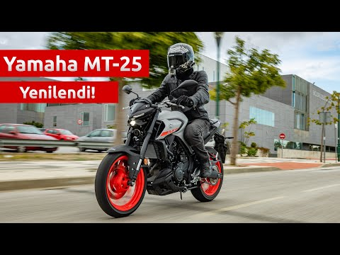 Türkiye'de İlk! - 2020 Yamaha MT-25(MT-03) İncelemesi
