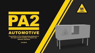 MTube - DPZ PA2 AUTOMOTIVE: Presentation of fire extinguishing equipment in a transport company