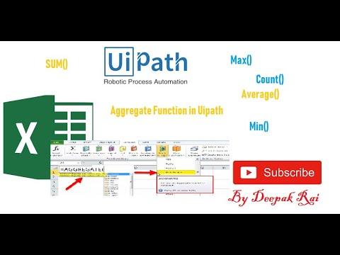 UiPath Datatable Aggregation - смотреть онлайн на Hah Life