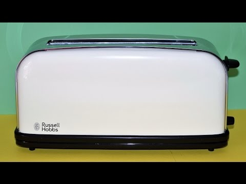 Tostadora de Ranura Larga, Russel Hobbs Colours Classic Cream 21395-56