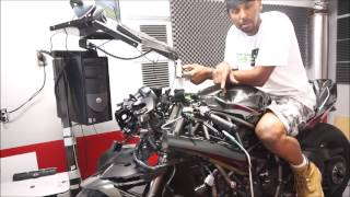 Rickey G builds the most powerful stock exhaust Kawasaki  Ninja H2 with RG62 Performance Plus kit