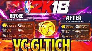 NBA 2K18 NEW INSANE VC GLITCH GRIND FOR VC MAKE OVER 100,000 VC UPGRADE YOUR MYPLAYER TO 99