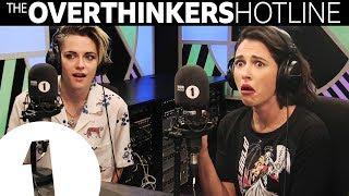 Why Is Your Bottom Called Your Bottom?: Kristen Stewart & Naomi Scott Overthinkers Hotline