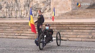 Şeful Statului Major a dat startul ''Ştafetei veteranilor'', pe segmentul Bucureşti - Ploieşti