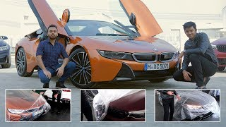 Unwrapping India's first BMW i8 Roadster | 2018 BMW M5 | BMW M4 and BMW i3s | Supercars in India