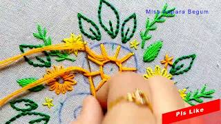 Embroidery Work :  Embroidery Patterns,Embroidery Designs,Hand Embroidery Class-76, #Miss_A