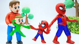 Familia LuKa 🕷️ Spider Man se despide de Luka para seguir a su padre perdido hace mucho tiempo 💖