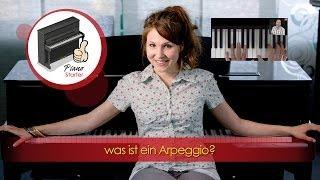 Klavier lernen - Arpeggios am Klavier lernen - was ist ein Arpeggio? - Akkorde verstehen