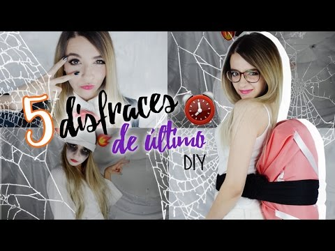 Disfraces de ultimo minuto - Halloween   Cecie