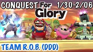 TEAM R.O.B. (DDD) ~ Conquest For Glory #5   Super Smash Bros. for Wii U