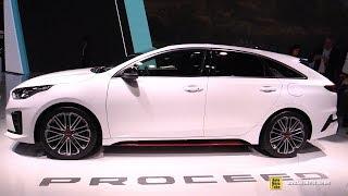 2019 KIA ProCeed - Exterior and Interior Walkaround - Debut at 2018 Paris Motor Show