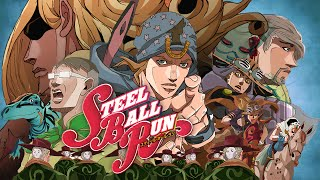 Gambar cover Steel Ball Run fan-trailer Animation