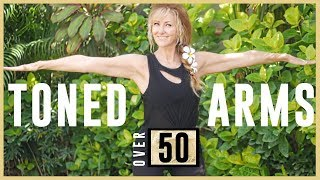 5 Minute Toned Arm Workout For Mature Women Over 50 | At Home Workout No Equipment Necessary!