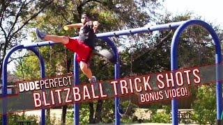 Dude Perfect: Blitzball Trick Shots BONUS Video