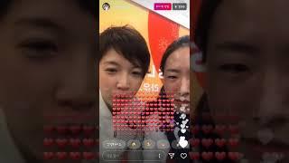 小平選手とイ・サンファ選手のインスタライブ!고다이라,이상화인스타라이브