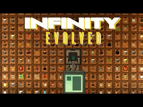 Minecraft Mods FTB Infinity Evolved - STORAGE DRAWERS [E16] (Modded Expert Mode)