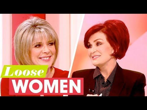 Sharon Osbourne Reveals How Ozzy Proposed to Her | Loose Women