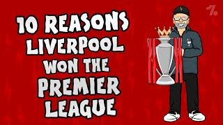 The Onefootball x 442oons show is back giving you 10 reasons why Liverpool won the Premier League title! It's not just the signings of Alisson and Van Dijk, but Jurgen Klopp's tactics, flying full backs, a world class front three and more!  ► Liked the video? Let us know by subscribing to our channel: http://bit.ly/SubscribeToOnefootball