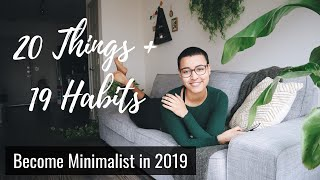 20+19 Decluttering Tips for the New Year | Minimalist for 6 years