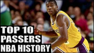 Top 10 Best Passers in NBA History