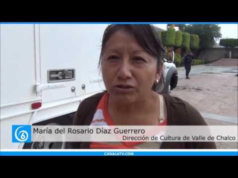 Actividades de la Dirección de Cultura de Valle de Chalco para este fin de semana