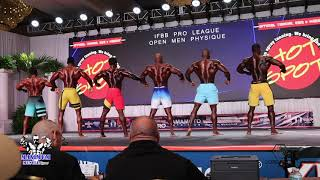 TAMPA PRO FIRST CALLOUTS | Mens Physique