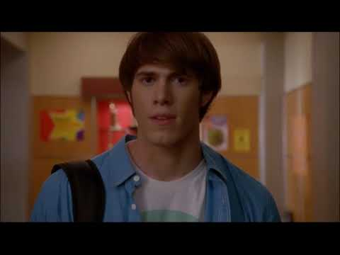 Glee - Ryder Finds Out Unique Was The Catfish 4x22