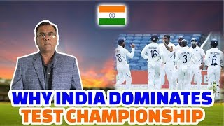 Why India Dominates Test Championship   Basit Ali