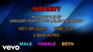 Gregory Porter Ftg Lalah Hathaway - Insanity (Karaoke)