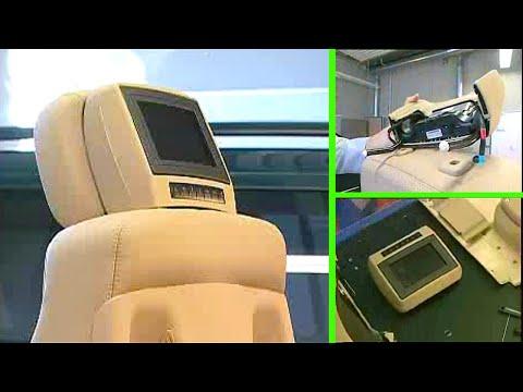 Mercedes-Benz | Entertainment System Ausbau des Monitors an der Kopfstütze (Typ 164, 251)