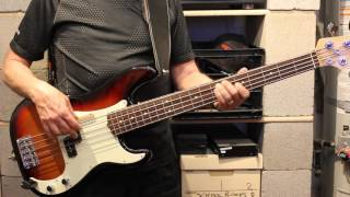 "Basia - ""Third Time Lucky"" (Bass Cover)"