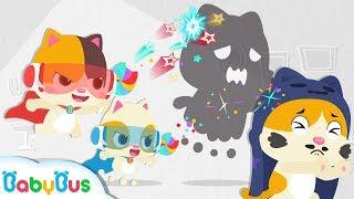 Biệt đội siêu anh hùng mèo con Mimi & Timi | Hoạt hình - Nhạc thiếu nhi vui nhộn cho bé | BabyBus
