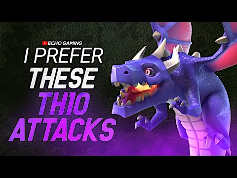 THESE Strategies at TH10 are Better than Pekka Hog Clash of Clans