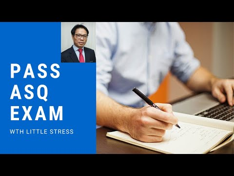 How to Pass ASQ CSSBB Exam 1st time - YouTube