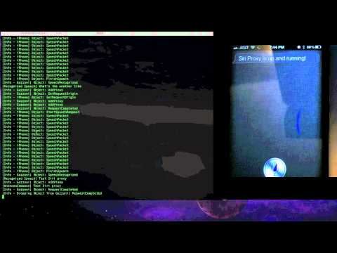 SiriProxy Adds Custom Commands To Siri