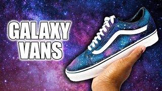 Custom GALAXY Vans!! (GIVEAWAY)