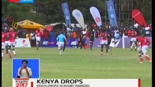 Kenya drops in rugby ranking, Kivumbi2017