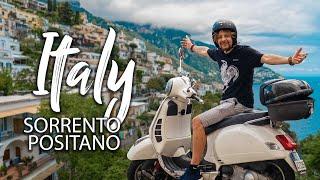 How to ride a Vespa like an Italian on the Amalfi Coast Italy