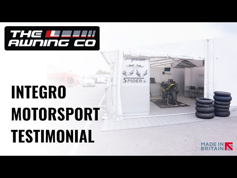 Integro Motorsport uses The Awning Company